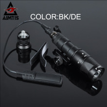 AIMTIS SureFir M300V Scout Light LED IR 20mm Rail Flashlight Constant Momentary Output Rifle Tactical Weapon Light for Hunting(China)