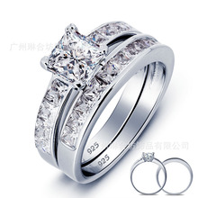 Ornaments Marry Be Engaged Set Ring Silver S925 Pure Silver Ring Ice And Snow Witch From Nepal Price At