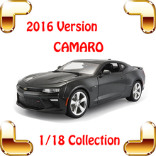 New Year Gift 2016 CMR 1/18 Model Sports Car Metallic Vehicle Collection Alloy Cars Toys Large Scale Home Decoration Static Toy