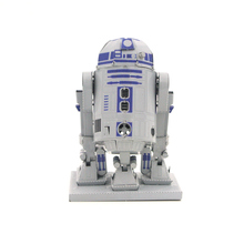 Colorful Star Wars R2d2 Fun 3d Metal Diy Miniature Model Kits Puzzle Toys Children Educational Boy Splicing Hobby Building