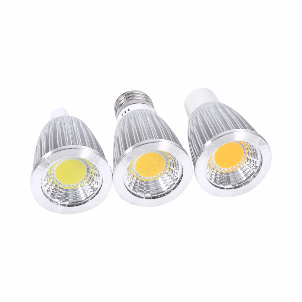1pcs 7W MR16/GU10/E27 COB Spot Lights Bulbs Ultra Bright LED Light Wholesale<br><br>Aliexpress