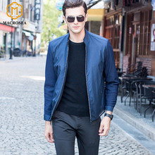 MACROSEA Brand Men's Standard Collar Formal Jackets Men Business Social Jackets Easy Care Classic Style Male Slim Fit Coats(China)
