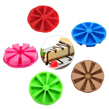 Colorful Kitchen creative Accessories Diy Cupcake Bake 8 parts of Scone mold  random color with good quality