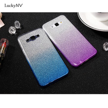 2017 Cheap Case for Huawei Mate 9 Luxury Waterproof Phone Mobile Accessories Cases for Huawei P9 Nova by TPU Flash Powder