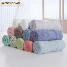 ZhengDian 100% Cotton Square Soft Towel bathroom quick water absorbent quick drying Clean cloth Care Hand Towels House Cleaning