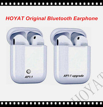 HOYAT Original Bluetooth Earphone Double Bluetooth Earpieces AP1:1  Earphones Headsets Earbuds For ios Iphone Air pods PK I8 I9S