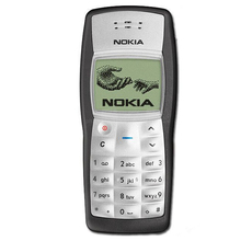 Original Nokia 1100 Mobile Phone Unlocked GSM900/1800MHz cellphone with multi languages free shipping