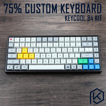 Custom Mechanical Keyboard Kit 84 keys kinds of led effects PCB 75% keycool Gaming Keyboard LED Backlight Available(China)