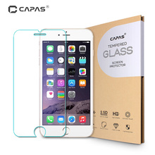 for iPhone 7 6S Plus 0.3mm Tempered Glass Screen Protector Toughened Protective Film For iPhone SE 5S 5 5C 4S 4 Free Shipping