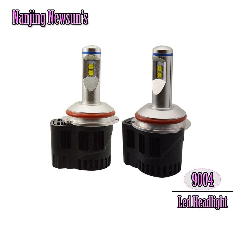 1 Set 55W H: 5200Lm/ L: 3000Lm 9004 HB1 Led Headlight Conversion Kits 3000K 4000K 5000K 6000K 9004 Hi/Lo Beam Auto Headlamp<br><br>Aliexpress