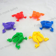 12 or 48pc Jumping Frogs kids plastic Toy novelty 4 colors assorted Hoppers Game Kids Party Favor Birthday Party Toys