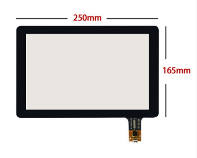 10 inch capacitive touch screen 250*165 , free delivery<br>