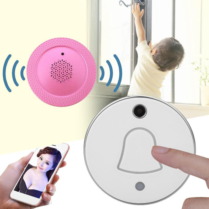 giantree Wireless WIFI Video Camera Phone Infrared Night Vision Doorbell Home Security<br>