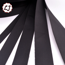 High quality 20mm/25mm/32mm/38mm/50mm black nylon velvet ribbon webbing tape for hat luggage and bags garment  suppliers DIY