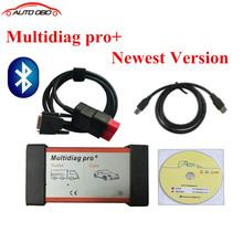Quality A+++ Multidiag pro+ with Bluetooth 2015.R1 free active CDP software Multi Diag pro+ For cars & trucks diagnostic tool