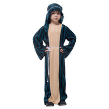 Child Arabian Sheik Costume Kids Arab Desert Prince Outfit Fantasia Halloween Fancy Dress