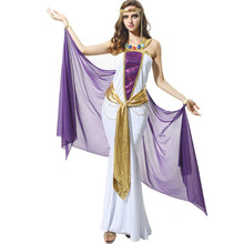 Halloween Sexy Cleopatra beautiful Queen of the Nile Cleopatra costume Women's royal Arab Egyptian goddess fancy Cosplay dress
