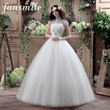 2016 Free Shipping Real Photos Vestidos Camo Wedding Ball Gowns Vintage Belt Plus Size High Collar Lace Wedding Dress Under 100