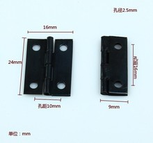 2014 Top Fasion Direct Selling Freeshipping 1 Inch Hinge Small Black Iron Little Gift Box(China)