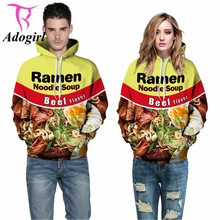 Sudaderas Mujer 2016 Spring Autumn Long Sleeve Pullovers Ramen Noodle Soup Cotton Blouse Hoodies Casual Hoodies Sweatshirts Men(China)