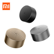 Original Xiaomi Bluetooth Speaker Portable mini Wireless Bluetooth Speaker Handsfree Music Square Box Lourspeaker for SmartPhone(China)