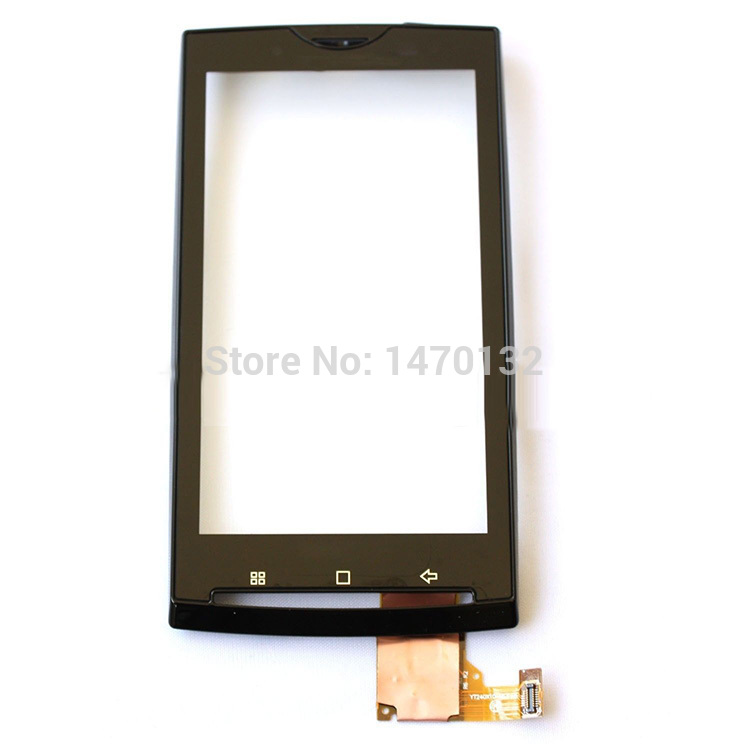 Touch Screen Digitizer Panel With Frame For Sony Ericsson Xperia X10 Black<br><br>Aliexpress