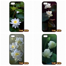 Beautiful colors White Lotus Flower Cell Phone Cases Covers For Sony Xperia M2 M4 M5 C C3 C4 C5 T3 E4 Z1 Z2 Z3 Z3 Z4 Z5 Compact