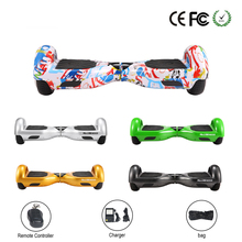 "Electric Scooter Self Balance 6.5"" 2 Wheels Hoverboard CE TUV & RoHS with Remote & Bag DE Warehouse Free DHL Shipping"