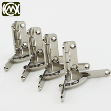 30*33mm 10pc In stock Zinc alloy Small Quadrant Hinge Set for humidor boxes/ cigar Case Twentysomething hinge W/screws W-030