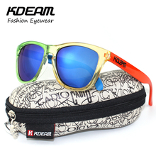 Free Oriented Men Sunglasses Logo Sports Sun Glasses Polished Classic Skins Design gafas de sol With Skull Peanut Box(China)