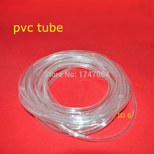 6 X 9MM Non-toxic Clear PVC Plastic Hose for air conditioner condensate pump , Clear Plastic Flexible PVC Hose, Clear Vinyl Hos(China)