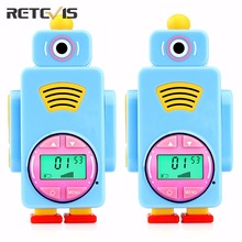 FRS/PMR License-free Retevis RT36 Mini Walkie Talkie Flashlight 0.5W Rechargeable Kids Children Toy Gift USB Two Way Radio A9125