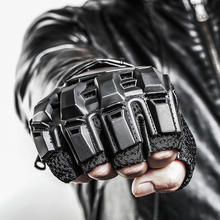 Tactical CS Half Finger Gloves Special Forces Combat Gloves Fitness Military Gloves Machinist Militar Gloves Antiskid