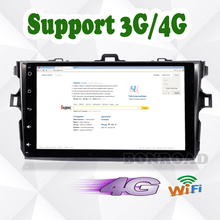 "9"" Quad Core 1024*600 Android 6.0 For Car PC Tablet For Corolla 2007 ~ 2011 GPS Navigation BT Radio Stereo Audio Player No DVD"