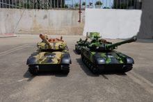 Remote control tank model super parent-child play children emission charge movable cross-country car toy boy