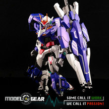 Metal Gear Seven Swords GN-0000 / 7SG 1/100 Metal Build MB 00 Trans-Am System Color Version Model Toy