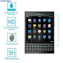 for BlackBerry Q30 Black Berry Real Premium Ultra Thin 0.26mm Tempered Glass Screen Protector Film No Bubble