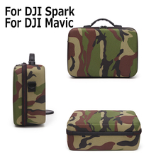 Shoulder Bag for DJI MAVIC Pro & Spark Camouflage bag Case Accessories Cam Portable Handbag Carry Case for DJI Mini RC Drone(China)