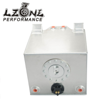LZONE RACING - Race Alloy Fuel Tank 5 Gallon w/ Sender Racing Cap FOAM 20L / Boat Fuel Tank JR-KI03501S