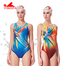 Yingfa 2016NEW Competitive swimming kids swimwear competition swimsuits training swimsuit swim suit women girls racing swimwear