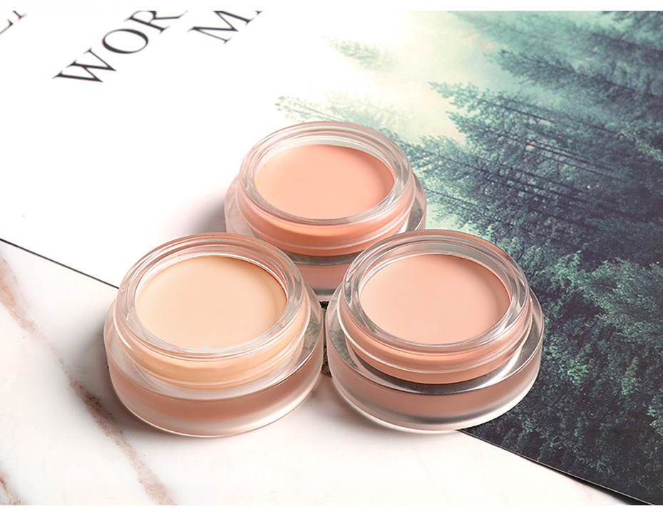 FOCALLURE 7 Colors Full Cover Concealer cream Makeup Primer Cover Foundation Base Lasting Oil Control Cream Concealer 10
