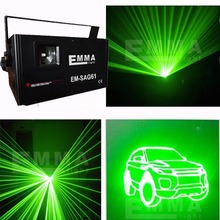 1W Analog Modulation green laser with SD Card,outdoor green Laser Light with 30K Scanner