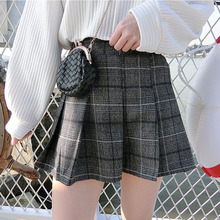 Buy Women Harajuku Skirt Kawaii Vintage Preppy Style A-line Plaid Sweet Mini Skirts Saia School Uniforms Faldas Ladies Jupe 2SK8 for $12.37 in AliExpress store