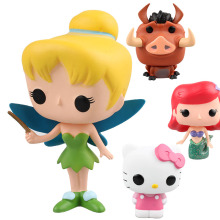 HOT The Lion King's Timon Lulu The Flower Angel Pumbaa The Mermaid hello kitty cat Toy Collection Anime electronic pet
