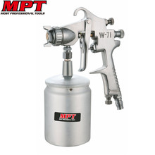 Mpt Airless Hvlp Spray Gun Paint Sprayer Aerografo Airbrush W-71 Mini Paint Gun for Painting Auto Verfspuit Pistolen Pintura(China)