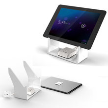 10x Tablet security display stand ipad anti theft holder samsung alarm base for flat pc exhibiton in tablet computer shop