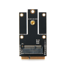 M.2 NGFF ключ к Мини PCI-E PCI Express конвертер адаптер для Intel 9260 8265 7260 AC NGFF, Wi-Fi Bluetooth Беспроводной карты(China)