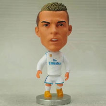 Soccerwe 2018 Season 6.5 cm Height Football Dolls La Liga RM Player 7 Cristiano Ronaldo Doll for Children Birthday Gift(China)