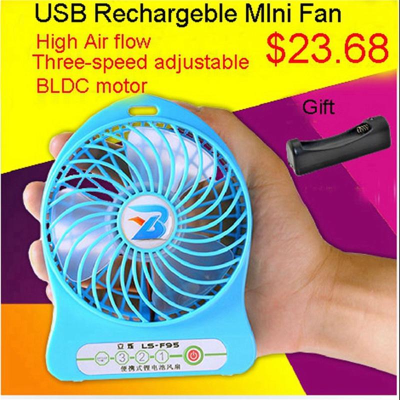 LISHUO USB rechargeble Mini Fan 1#