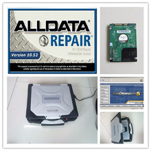 auto software alldata mitchell on demand all data 10.53 with hard disk 1tb installed version toughbook cf30 laptop windows7